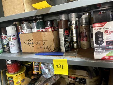 Shelf Cleanout 2 - Spray Paint