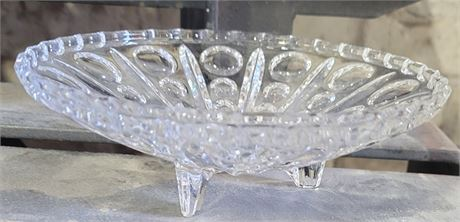 Glass Footed Dish
