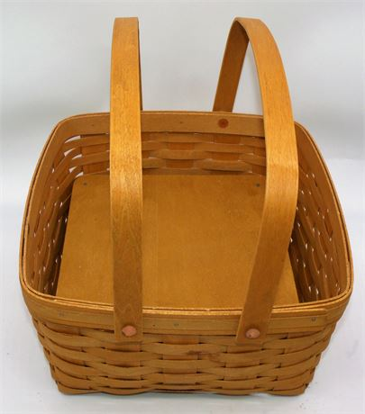 Longaberger Pie /Cake basket stand