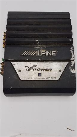 Alpine auto amp