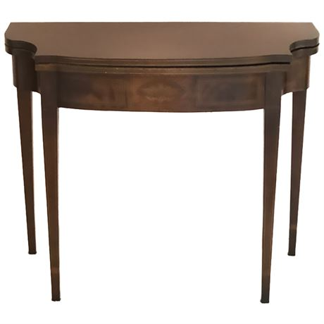 Federal Style Flip Top Occasional Table