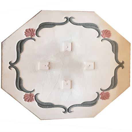 """""""Fabrica"""", Carved Wool Octagon Area Rug"""