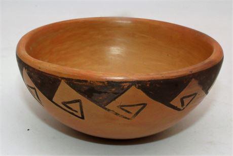 Native Indian  signed bowl