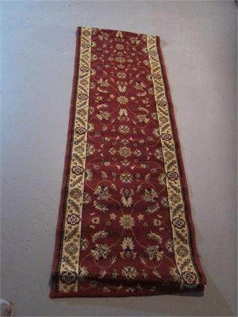 """74"""" Oriental Carpet Runner"""