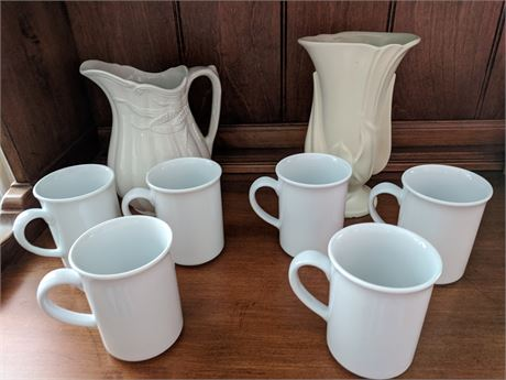 Royal Crownford Ironstone Pitcher