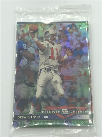 New unopened 1993 Upper Deck Football Card Pack