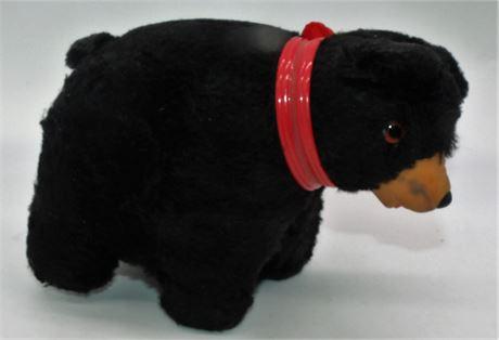 VTG Mohair Bear Bells in ears