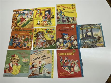 Old 45 Children's Records