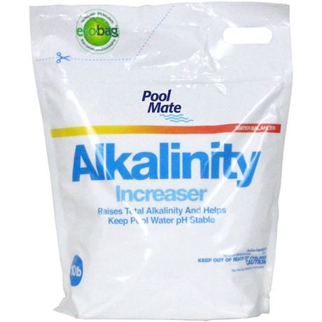 New in Bag 10 lb. Pool Mate Total Alkalinity Increaser for Swimming Pools