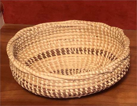 Mary Habersham Signed Sea Grass Basket