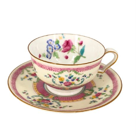 Royal Doulton Charlotte Demitasse Cups & Saucers