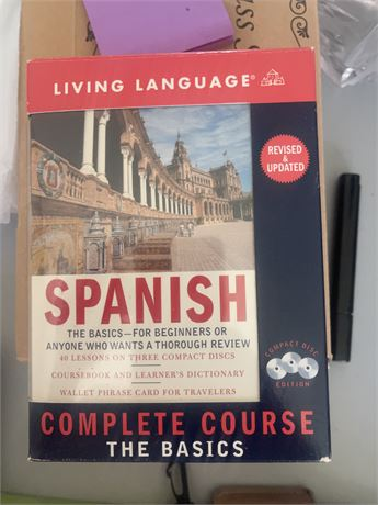 Spanish:  Complete Course