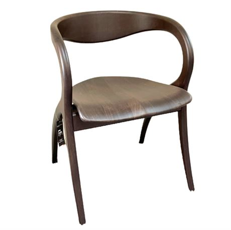 Domitalia Star Dining Chair with Wenge Finish