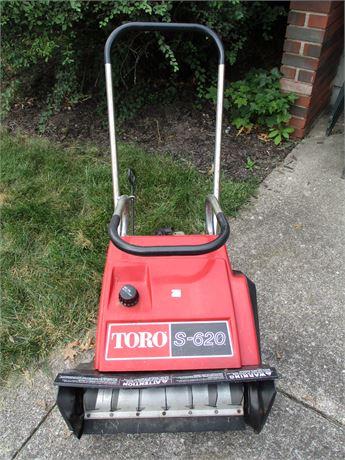 Toro S620 Pull Start Snow Blower