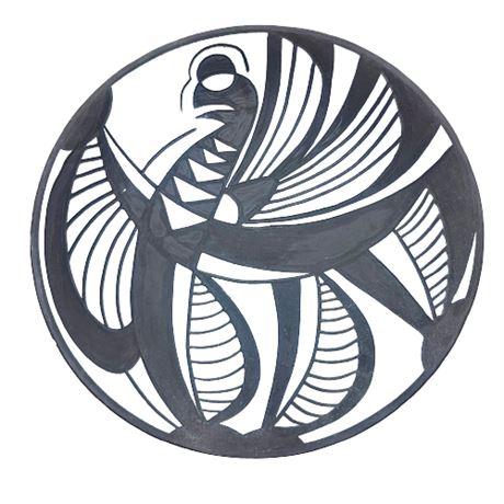 "Marianne Starck ""Tribal"" Series Platter No.4347-1"