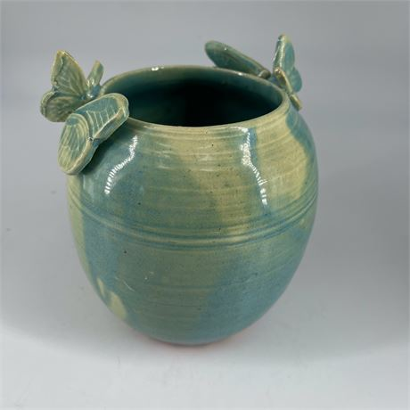 Glazed Art Pottery Vase