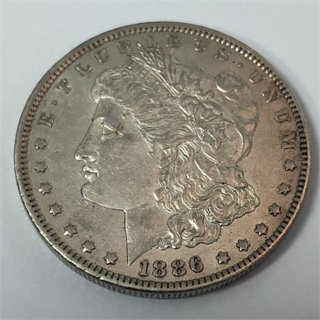 1886-O Morgan Dollar Coin