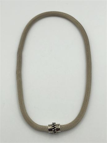 Thick Vintage Joseph Esposito Sterling Silver Necklace