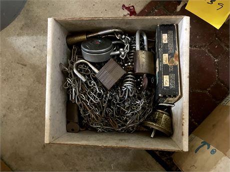 Box of Chain and Locks