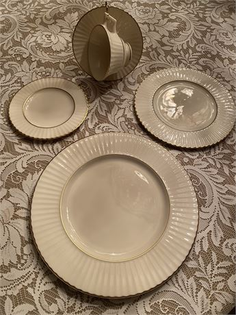 Lenox Citation Gold 5 Piece Place Setting
