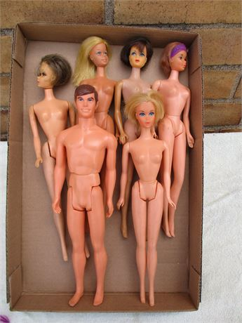 Barbie Box Lot