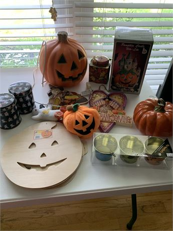 Halloween and Fall Lot