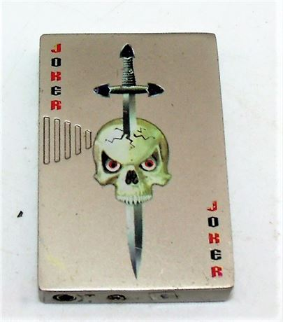 Skull Joker Metal lighter