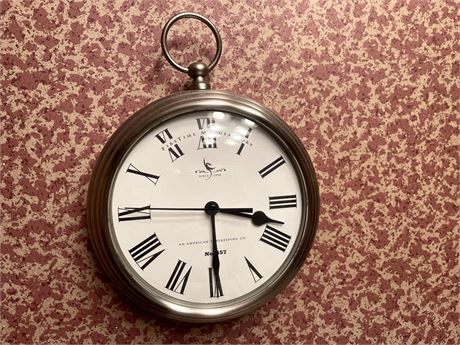 Clock by FIrst time Manufacturing clock