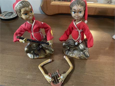 Musical Oriental Figurines