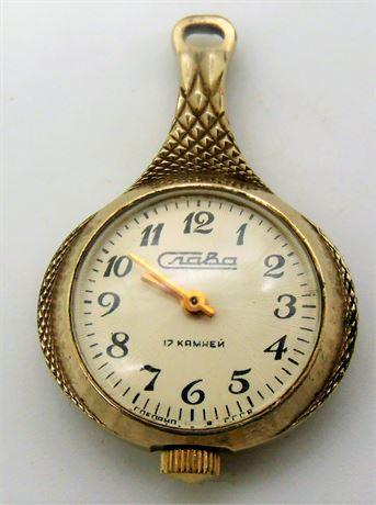 Russian Craba pendant watch