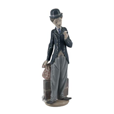Lladro 'Charlie the Tramp' 5233 Porcelain Figurine
