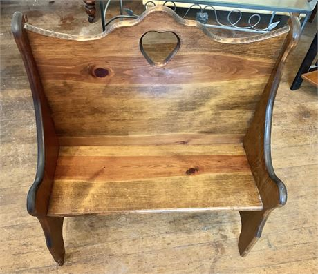 Wooden Childs Bench