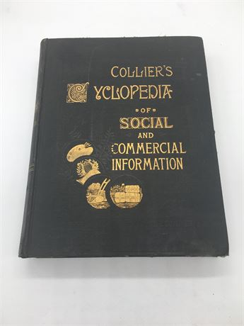 Colliers Encyclopedia of social and commercial information commercial