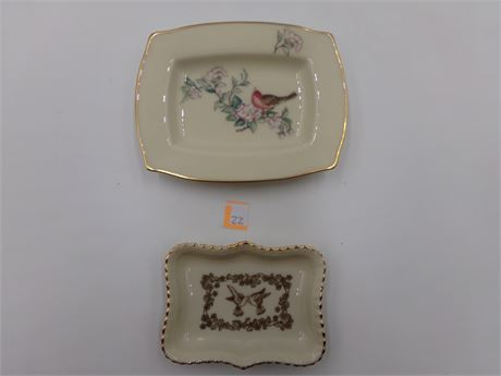 Two Lenox Dishes
