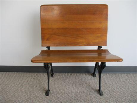 Vintage School Seat