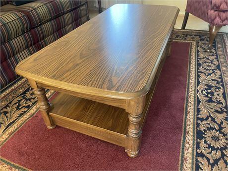 Oak wooden Coffee Table
