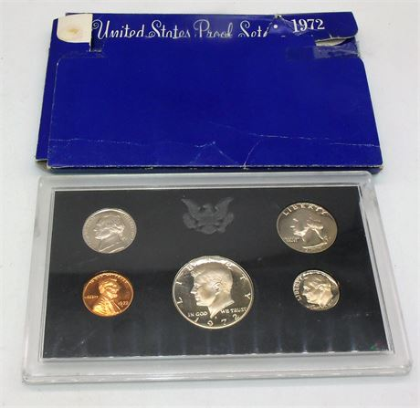 1972 Proof Coin Set
