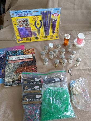 Wild Wire Project Pack and Bead Craft Supplies