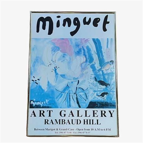Minguet Framed Poster