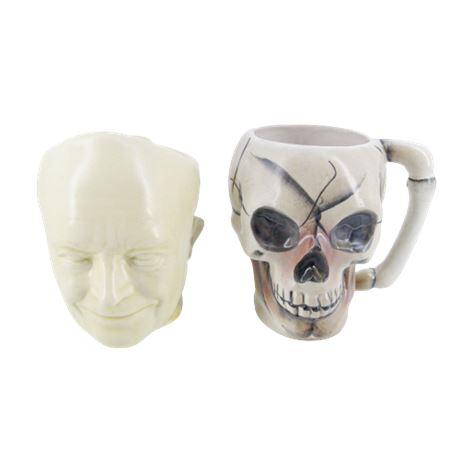 Mans Head / Skull Mugs