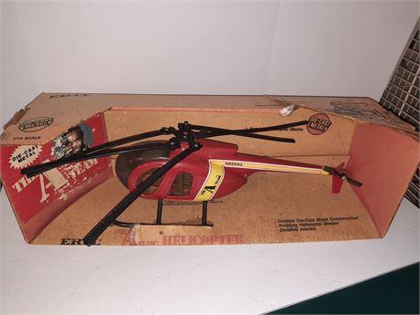 Vintage Original A Team Helicopter W/ Box 1983