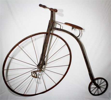 Awesome Antique Penny Farthing Bike