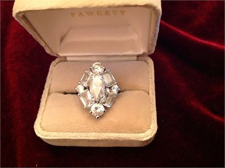 Silver Ring Size 5 1/2