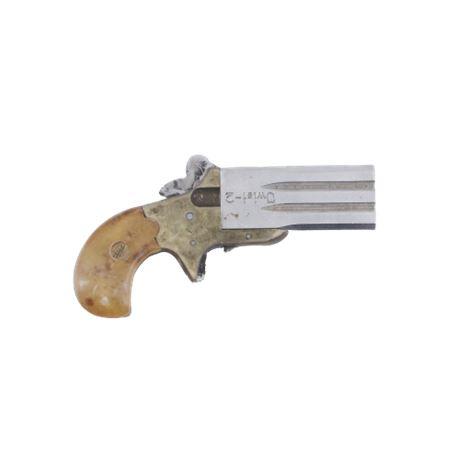 Estul Inc. Model Twist-2 .22 Cal Pocket Derringer Pistol