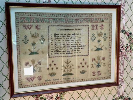 "1777 ""10 Commandments in Meeter"" Sampler"