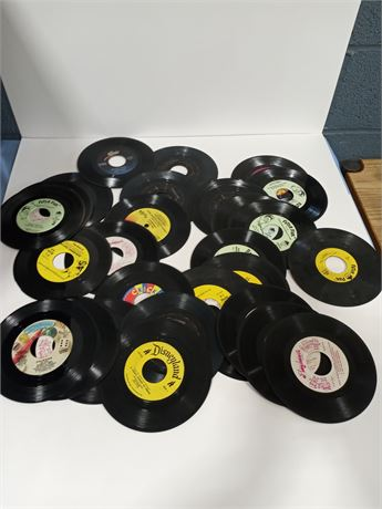 Vintage Kids 45 rpm Record Albums