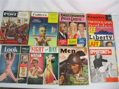Vintage Magazines '40s - '50s