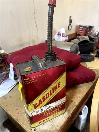 Old Gasoline Can