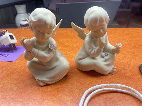 Homco Pair of Angels