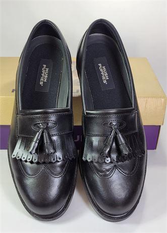 Men's Hush Puppies Slip On Dress Shoes Size 10W